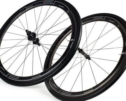 HED Jet 4 Black Rear Clincher - 11 Spd