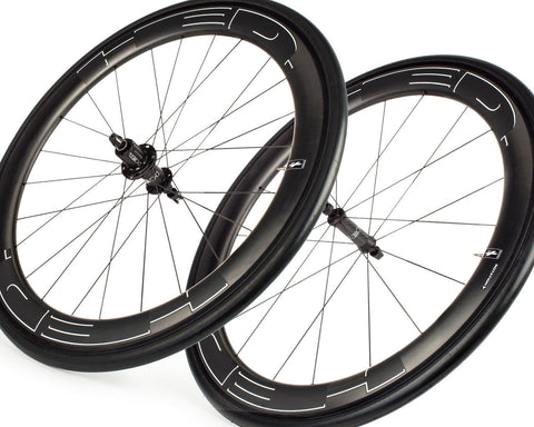 HED Jet 6 Black Rear Clincher - 11 Spd