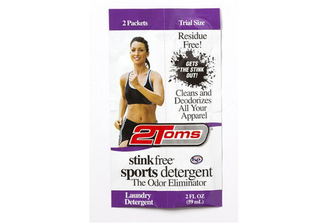 2Toms Stink Free Sports Detergent Single (2-Pk)