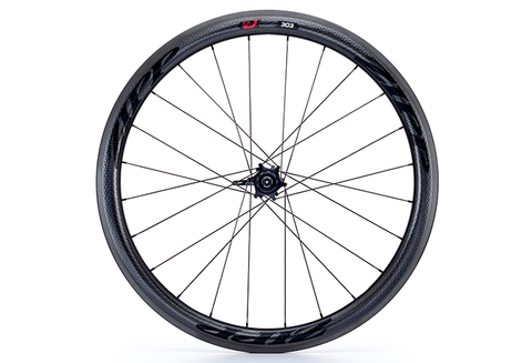 Zipp 303 Carbon Clincher - Rear Wheel - 11 Spd - Black Decal
