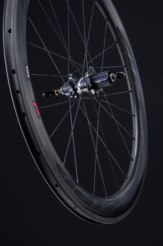 Zipp 404 Carbon Clincher - Rear Wheel - 11 Spd - Black Decal