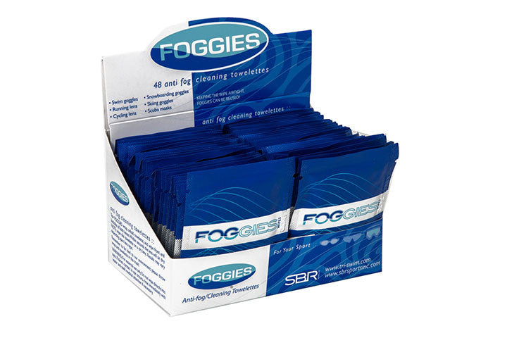 Foggies Anti- Fog Cleaning Towelettes - Case of 48