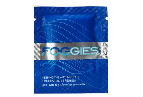 Foggies Anti-Fog Cleaning Towelette - Single