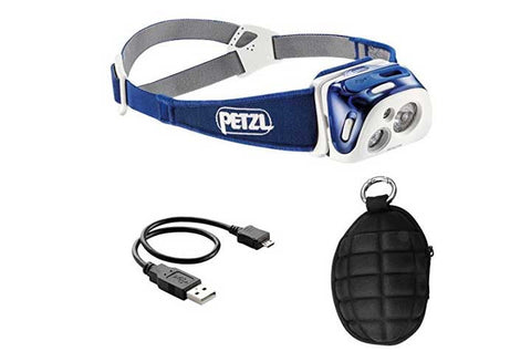 Petzl REACTIK Reactive Headlamp, 220