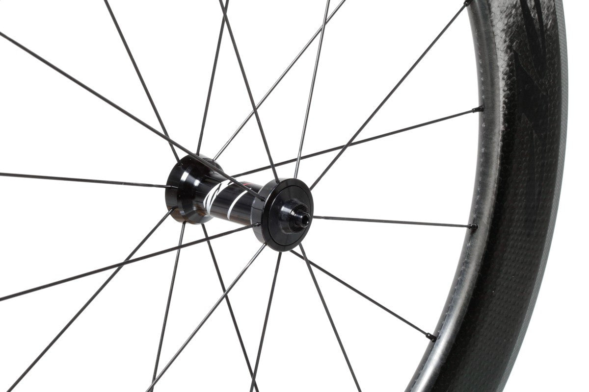 Zipp 808 Firecrest Carbon Clincher - Front Wheel - Black Decal
