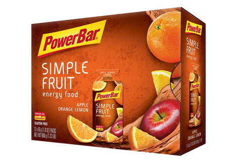 PowerBar Simple Fruit Gel