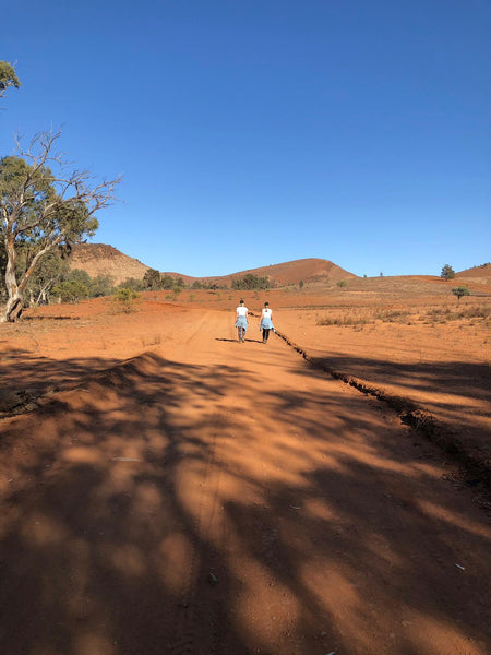 Camping in the Flinders Ranges with Kids