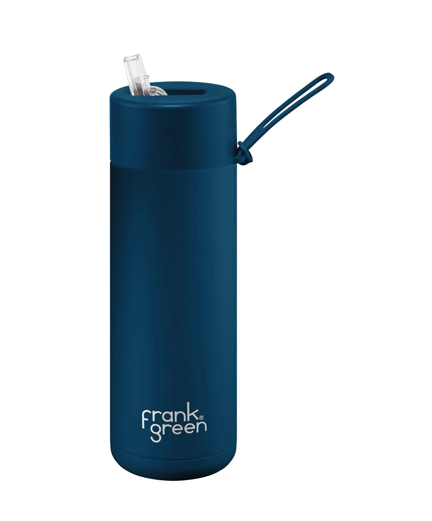 Frank Green Insulated Drink Bottle 595ml - Blue - Project Ten