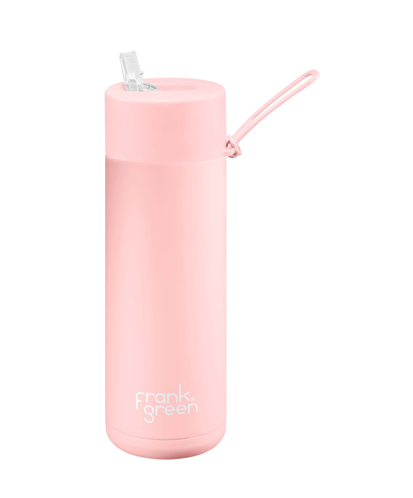 Frank Green Insulated Drink Bottle 595ml - Pink - Project Ten