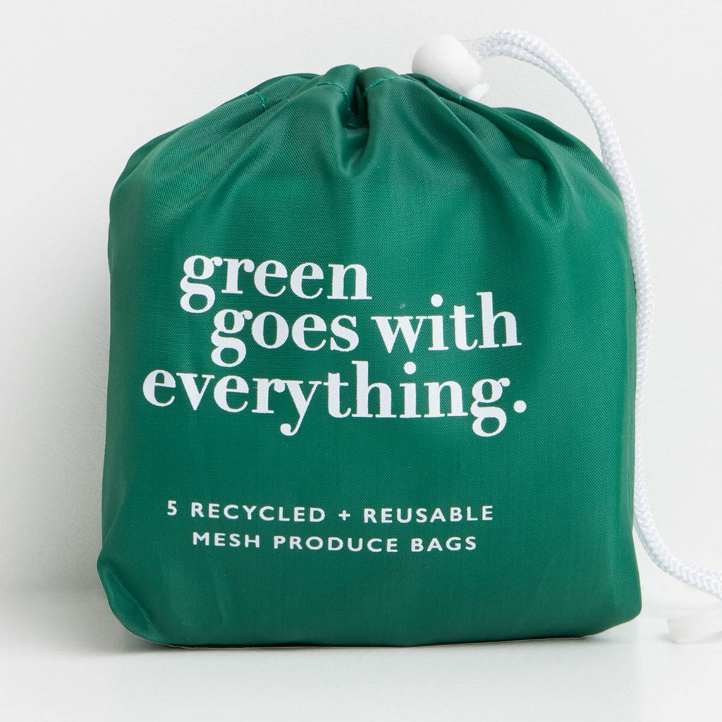 Recycled Mesh Produce Bags (5) - Project Ten