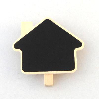 Pony Lane Petite Chalkboard Pegs - Houses