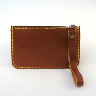 Pony Lane Leather Zip Wallet