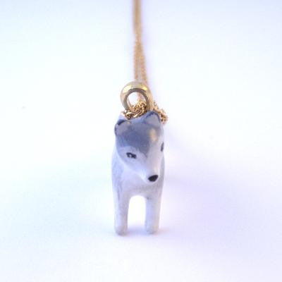 Craft Me Up Forest Wolf Necklace