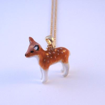 Craft Me Up Forest Deer Bambi Necklace