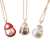 Collection of Craft Me Up Babushka Russian Doll necklace