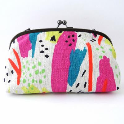 Craft Me Up Acid Splatter Shoulder Purse