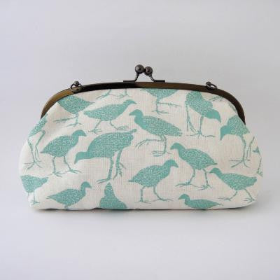 Craft Me Up Pukeko Print Shoulder Purse
