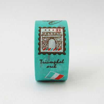 Pony Lane Paris Washi Tape in Teal