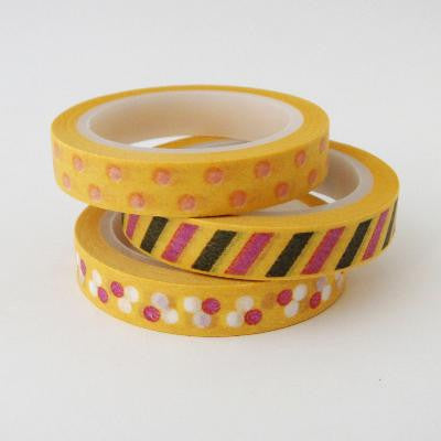 Pony Lane Mustard Washi Tape