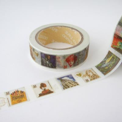 Washi Tape - Vintage Stamps