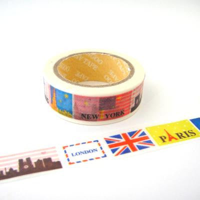 Washi Tape - Big Cities