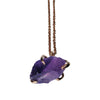Craft Me Up Amethyst Pendant with rose gold chain