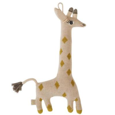 OYOY Baby Guggi Giraffe Knit Cushion