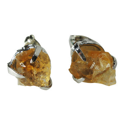 Craft Me Up Citrine Gem Earrings