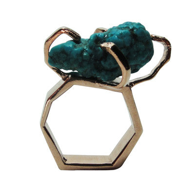 Craft Me Up Turquoise Gem Stone Ring