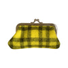 Pony Lane Muted Yellow Woollen Coin Purse
