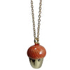 Pony Lane Fawn Acorn Top Necklace