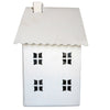 Pony Lane White Tealight Lantern Cottage