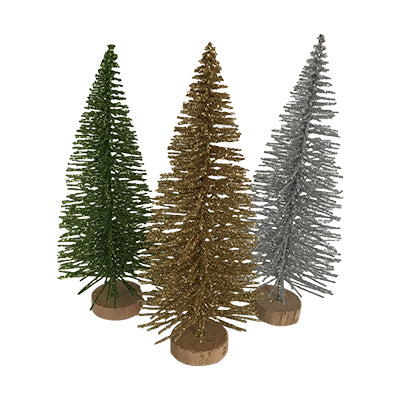 Christmas Tree Decoration - Glittery