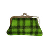 Pony Lane Zesty Green Woollen Coin Purse