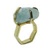 Craft Me Up Aquamarine Gem Stone Ring