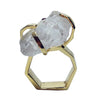 Craft Me Up White Topaz Gem Stone Ring