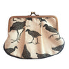 Craft Me Up Pleat Coin Purse Pukeko Black