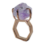 Craft Me Up Amethyst Gem Stone Ring