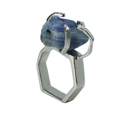 Craft Me Up Blue Apatite Stone Ring