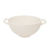 Pony Lane White Ceramic Colander