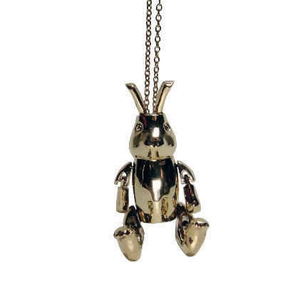 Craft Me Up The Golden Rabbit Necklace