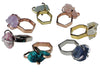 Craft Me Up gem stone rings