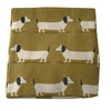 Oil Cloth Reusable Lunch Bag - Dachshund