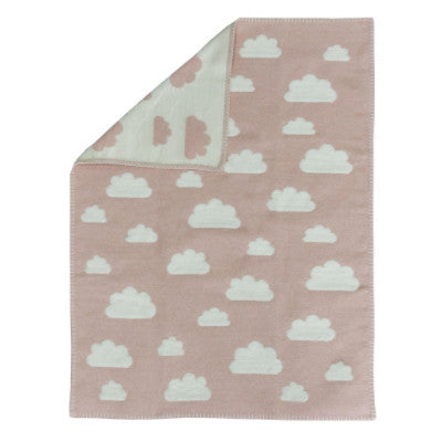 David Fussenegger Baby Blanket Finn Clouds