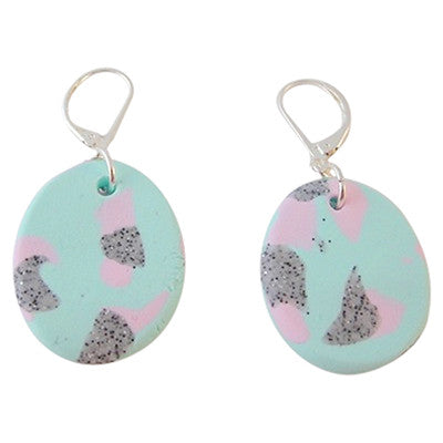 Confetti Disc Earrings