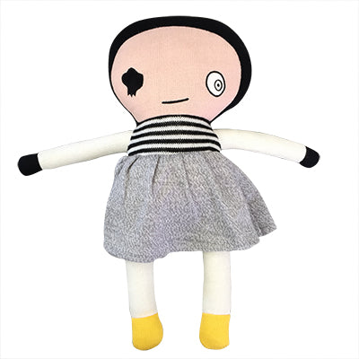 Knitted Softie Toy - Dolly