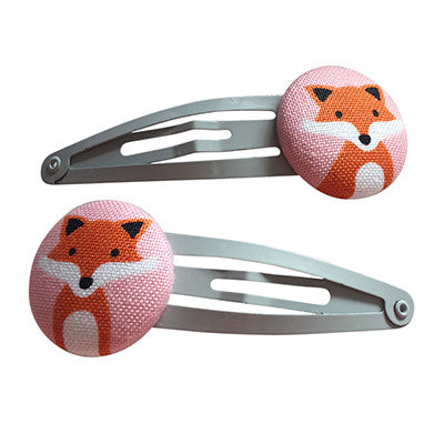 Craft Me Up Fox Hairclips