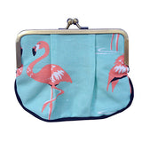 Flamingo Pleat Coin Purse