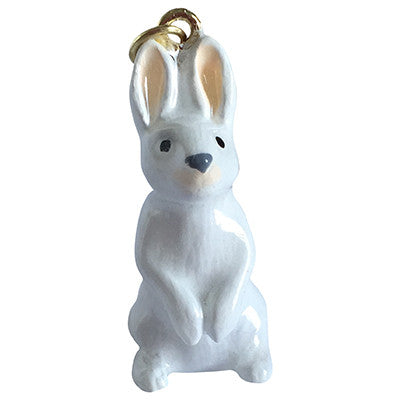 Ceramic Woodland Animal Standing Rabbit Necklaces
