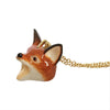 Craft Me Up Ceramic Woodland Fox Necklace